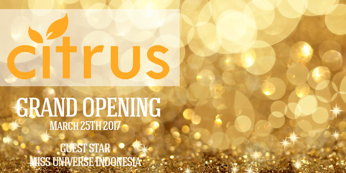 Green Pramuka City CITRUS Dept Store grand Opening - March 25TH